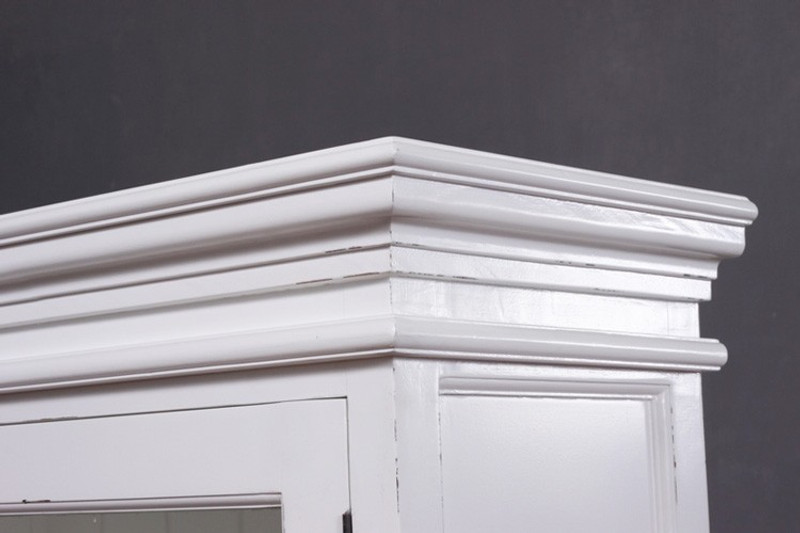 OTTO, Vitrinenschrank weiß | Vintage & Designer Möbel von Matz