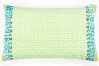 Kissenbezug in grün türkisem Mustermix 50 x 30 cm Bild 1