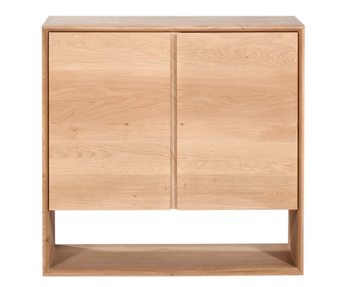 ethnicraft sideboard eiche nordic 80 cm. Black Bedroom Furniture Sets. Home Design Ideas