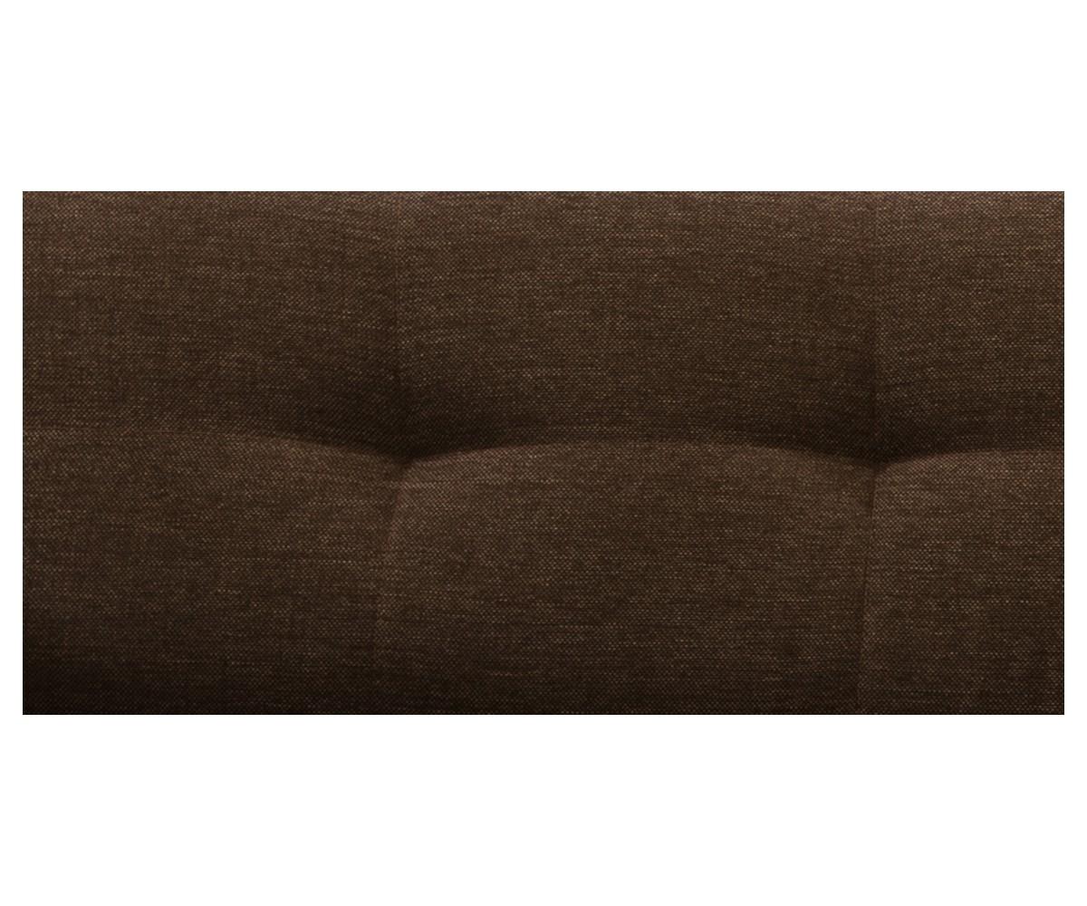 Retro Sofa Stoffbezug in Braun 003