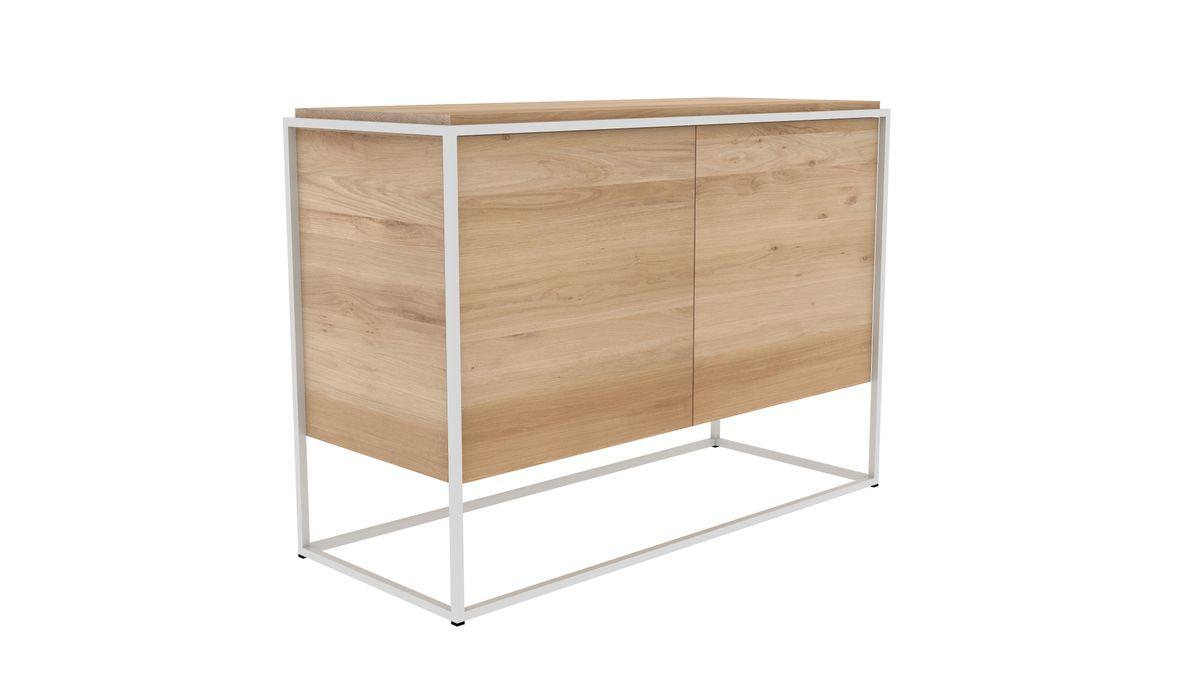 Monolit Sideboard Weiß - Zweitürig 003