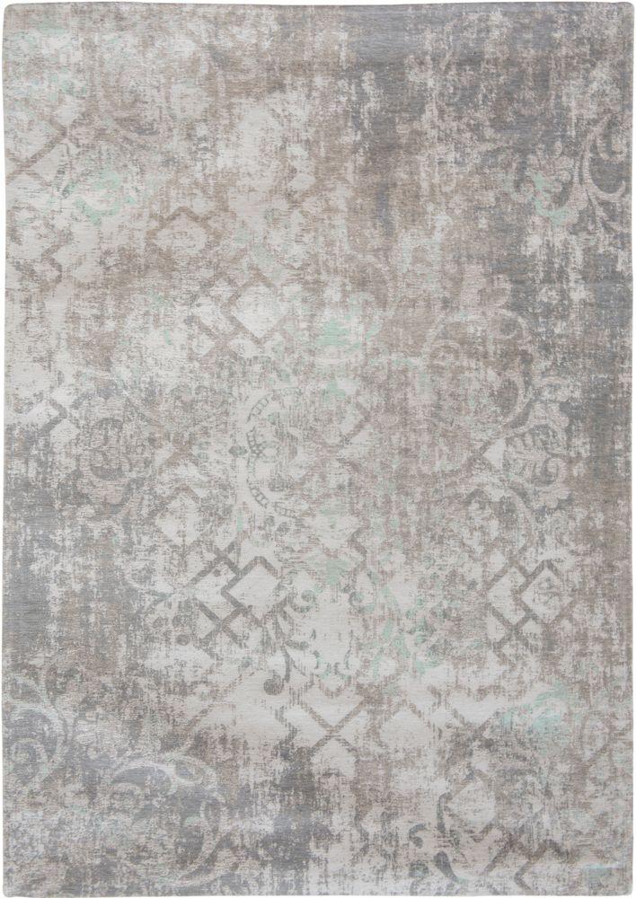 Das Design Babylon aus der Fading World Kollektion von Living Carpets besticht durch seinen liebevoll angefertigten Used Look in Kombination mit floralen, arabisch-geometrischen Formen und den einzigartigen Farbverläufen aus sanftmütigen Tönen.