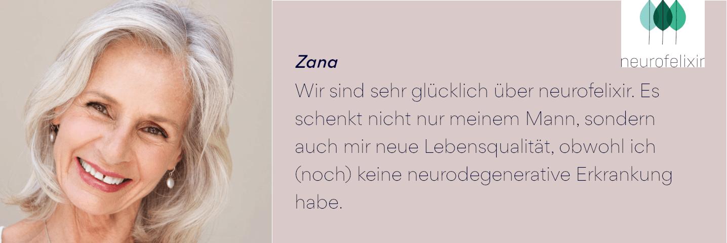 neurofelixir® Anwenderbericht Zana