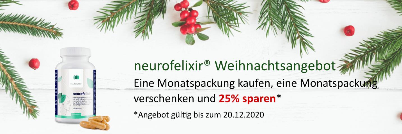 neurofelixir® Weihnachtsangebot vom 20.11.2020 bis zum 20.12.2020
