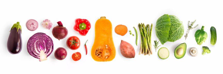 Flavonoide geben Obst und Gemüse nicht nur ihre Farbe, sondern machen sie widerstandsfähig.