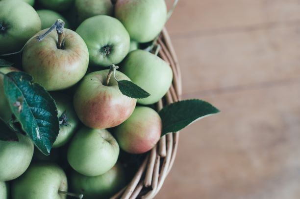 Quercetin aus Äpfeln schützt unsere Zellen vor oxidativem Stress und verhindert den Muskelabbau.