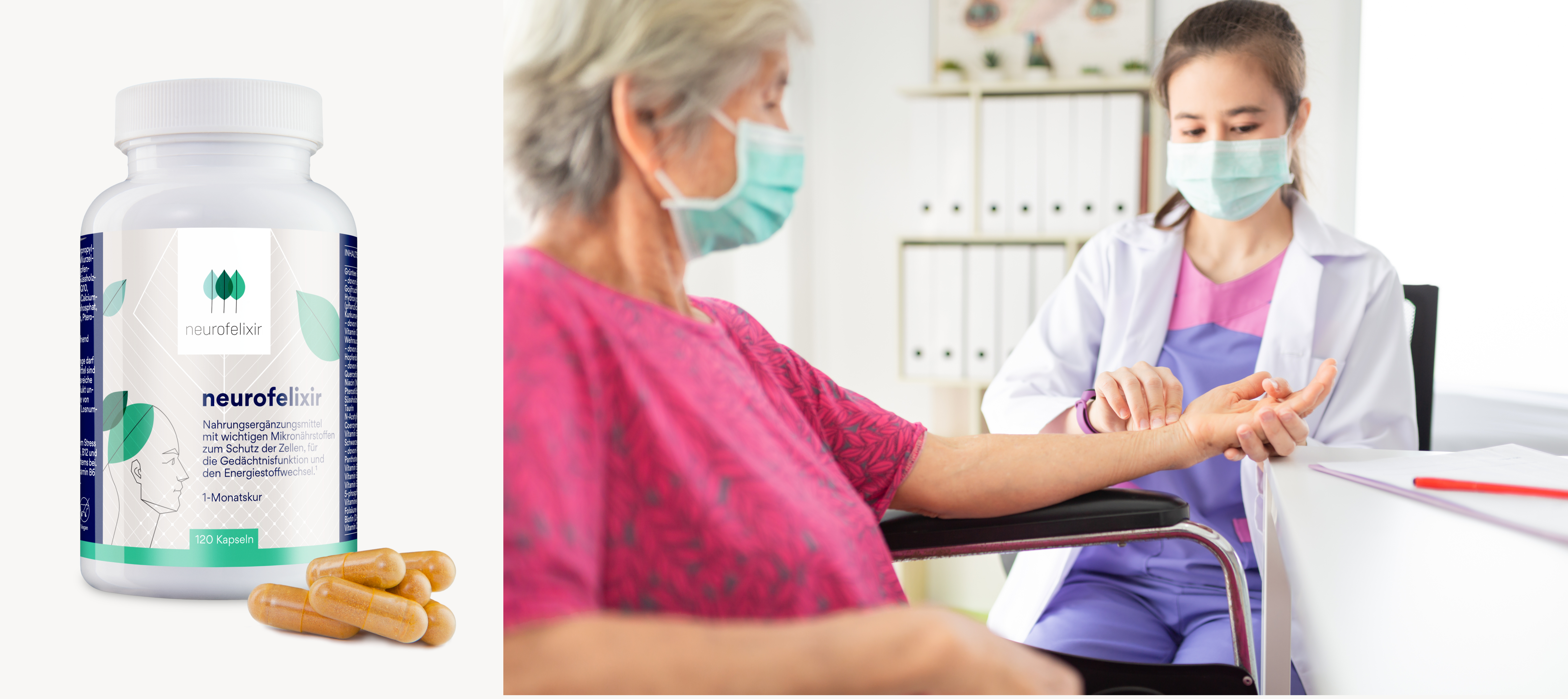 neurofelixir® wird von zahlreichen Heilpraktikern und Ärzten  empfohlen
