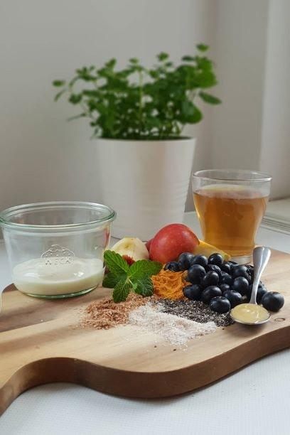 Das neurofelixir® Trinkpulver kann man auch als Smoothie vorbereiten.
