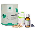 neurofelixir® capsules + Omega-3 Vegan oil supply package 001