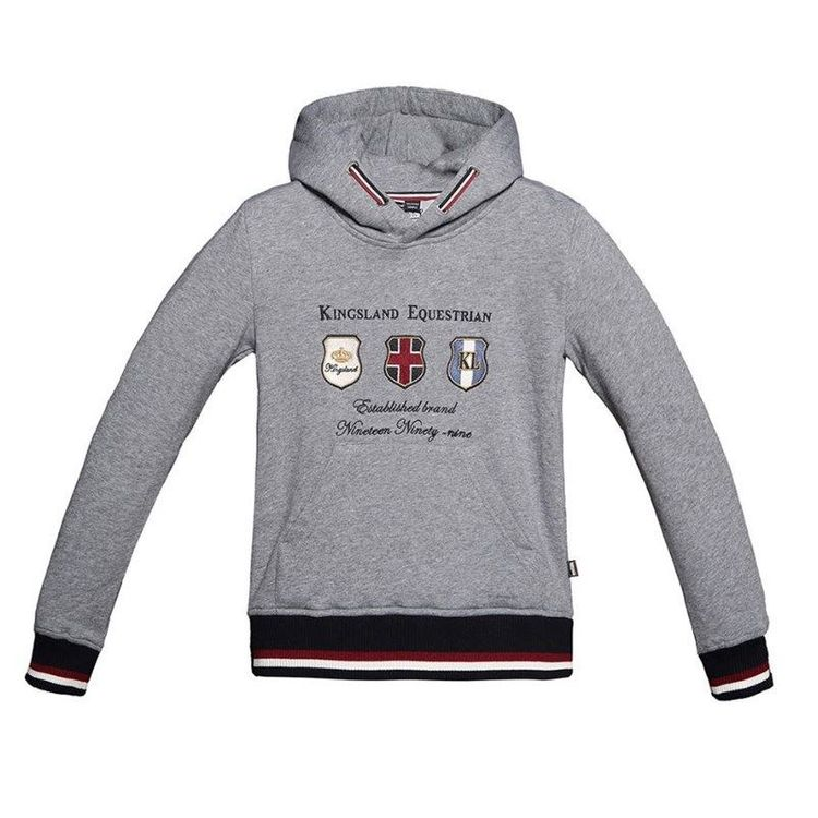 Kingsland Kapuzensweater Leeds für Kinder in dark grey