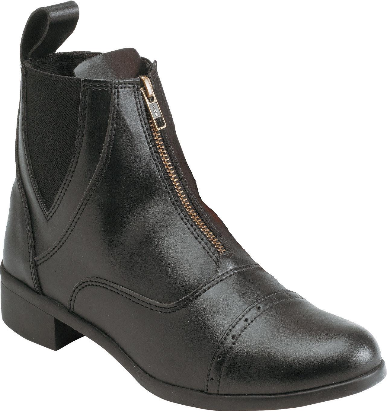 """Equi-Théme """"Zip"""" Stiefelette, schwarz, viele Größen, NEU (914014)"""