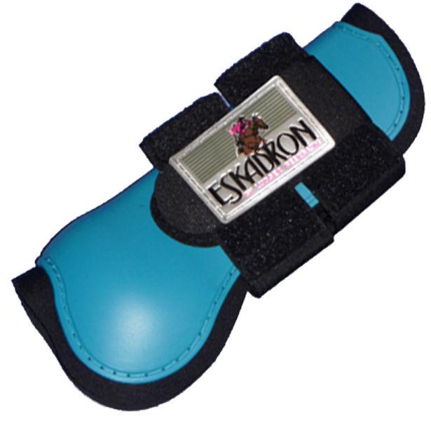 2er Set Eskadron Protection Boots Gamaschen petrol Warmblut