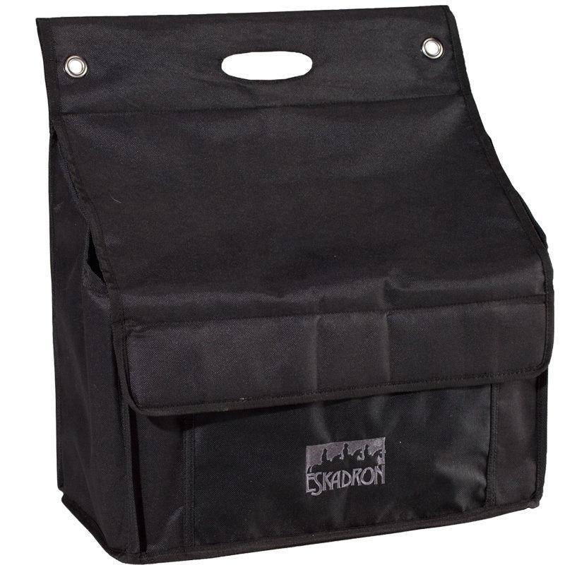 Eskadron Tasche für Boxenvorhang  Black 35 x 40 cm (normal)