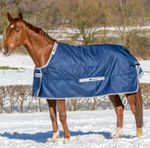 Bucas Turnout Select 100g, Weidedecke, Outdoordecke in navy 001