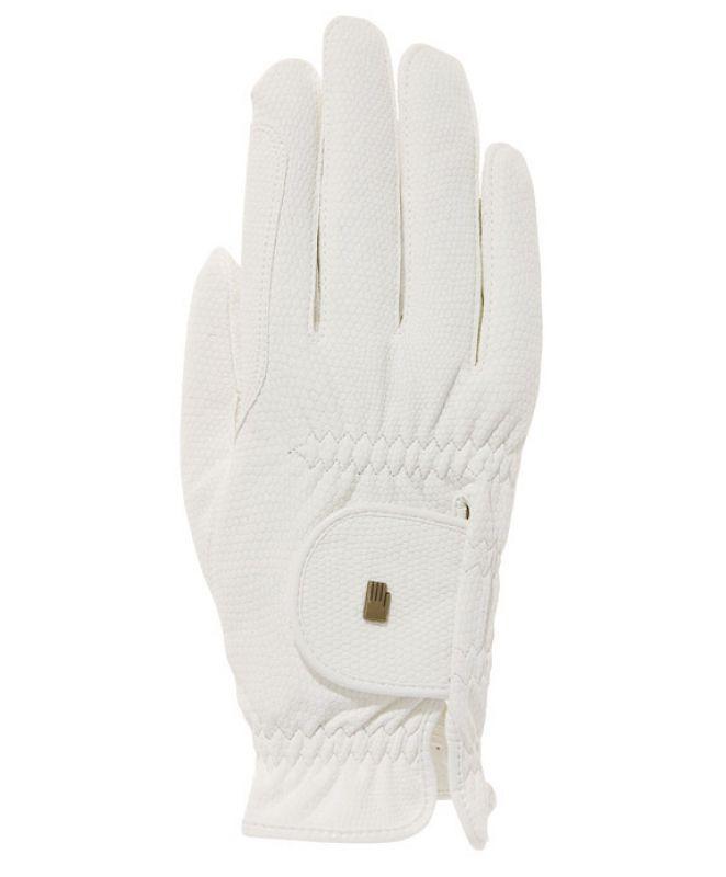 Roeckl Handschuh Light & Grip, Farbe weiß (3301-208-100)