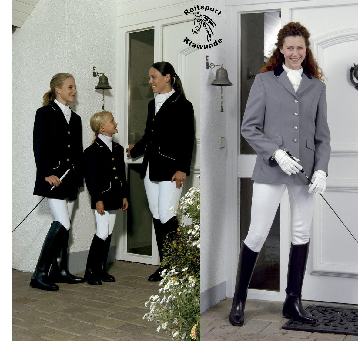 % ELT Damen-Tunierjacke in schwarz, navy oder grau - Lagerräumung - Neu