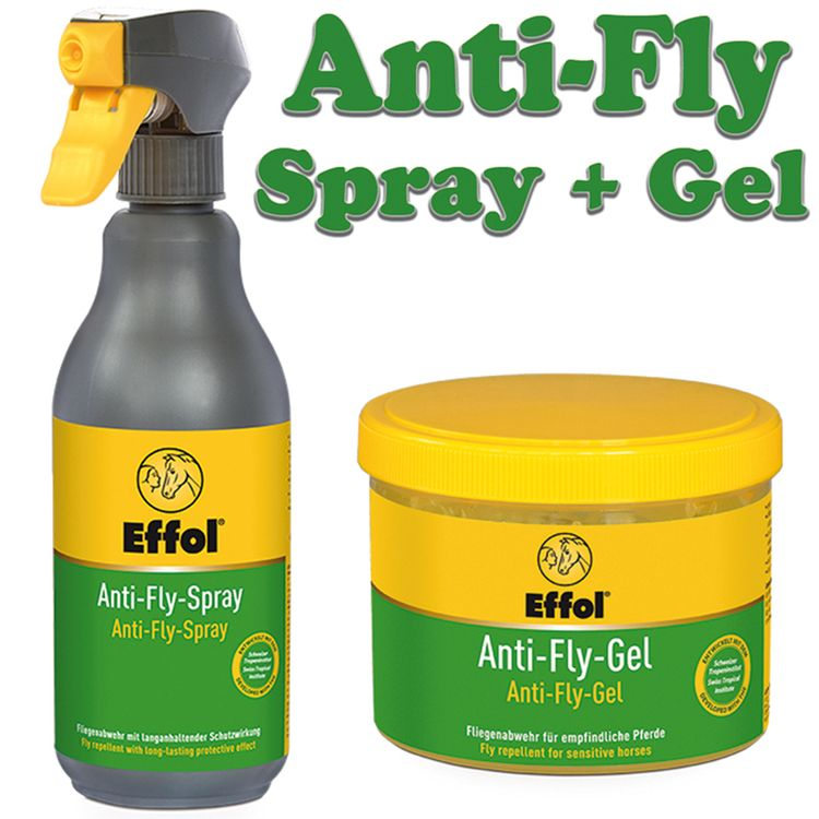 Effol SET Anti Fly Spray & Gel