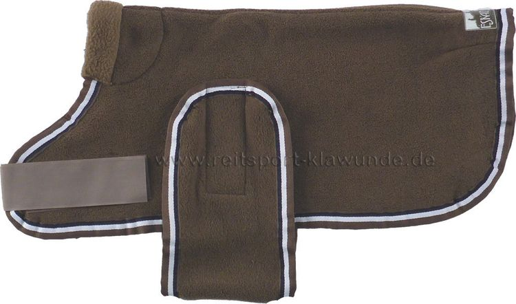 Eskadron Hundemantel/Hundedecke Fleece in taupe