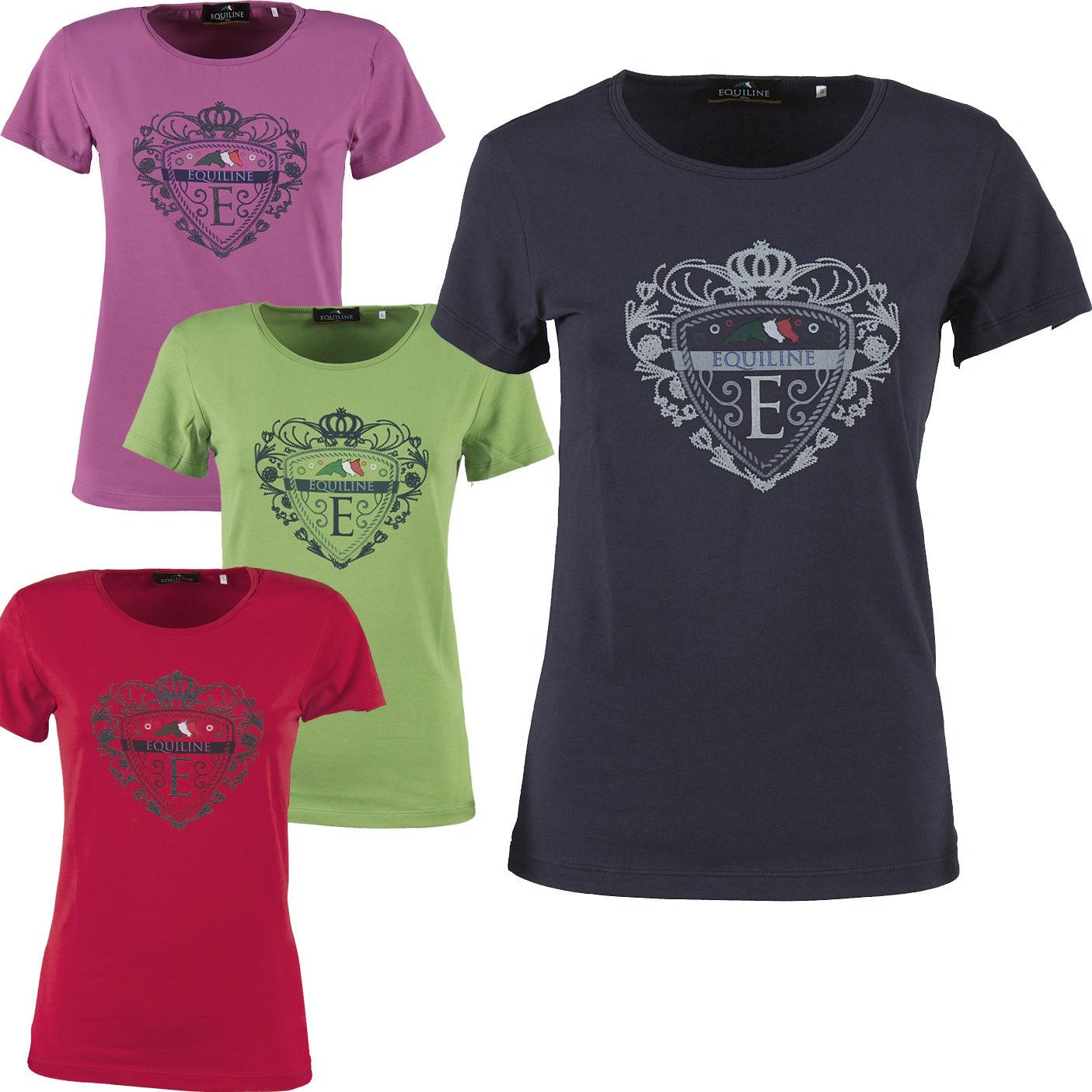 EQUILINE Damen T-Shirt Sammy in Dahila Größe XL