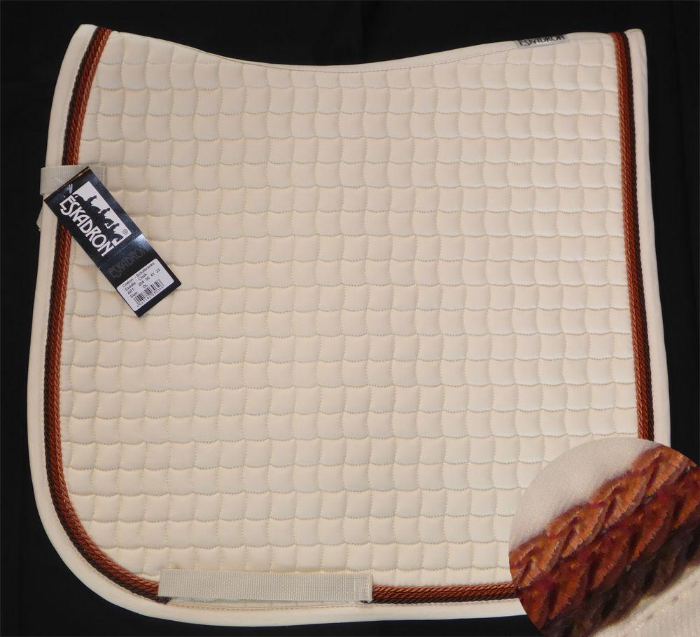 Neu ESKADRON Cotton Schabracke creme 3fach Kordel choco,rust,copper viele Größen