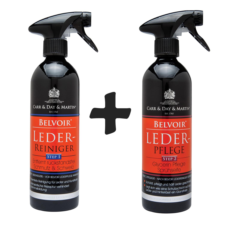 Carr & Day & Martin Belvoir Tack Cleaner Step1 & Conditioner Step2, Lederpflege