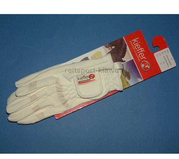 """Kieffer Handschuhe in weiß """"Modell Madrid"""" - top Qualität"""