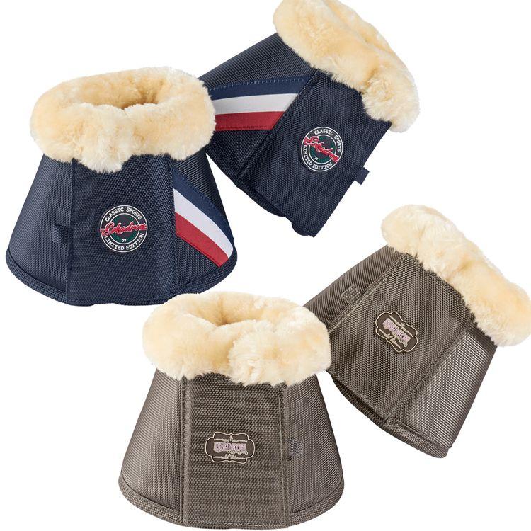 Eskadron Hufglocken FAUXFUR (CS ltd. FS17) navy,chocochip