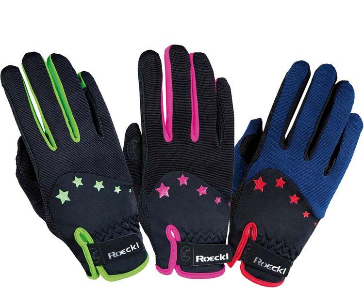 Roeckl Teen-Line Handschuh Stars, viele Farben & Größen - NEU