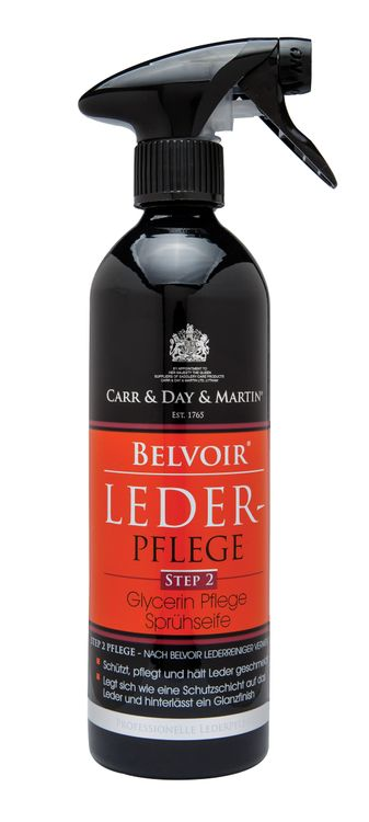 Carr & Day & Martin Belvoir Tack Conditioner ,Step 2 , Lederpflege 500ml Spray