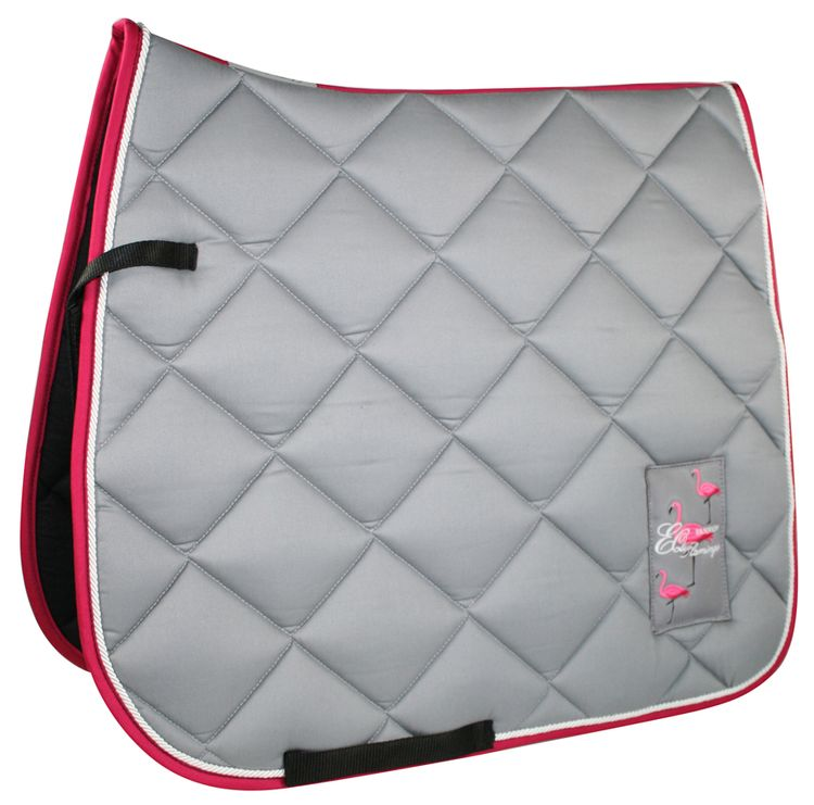 Equest Flamingo Cotton Maxx Schabracke 1 -  grau