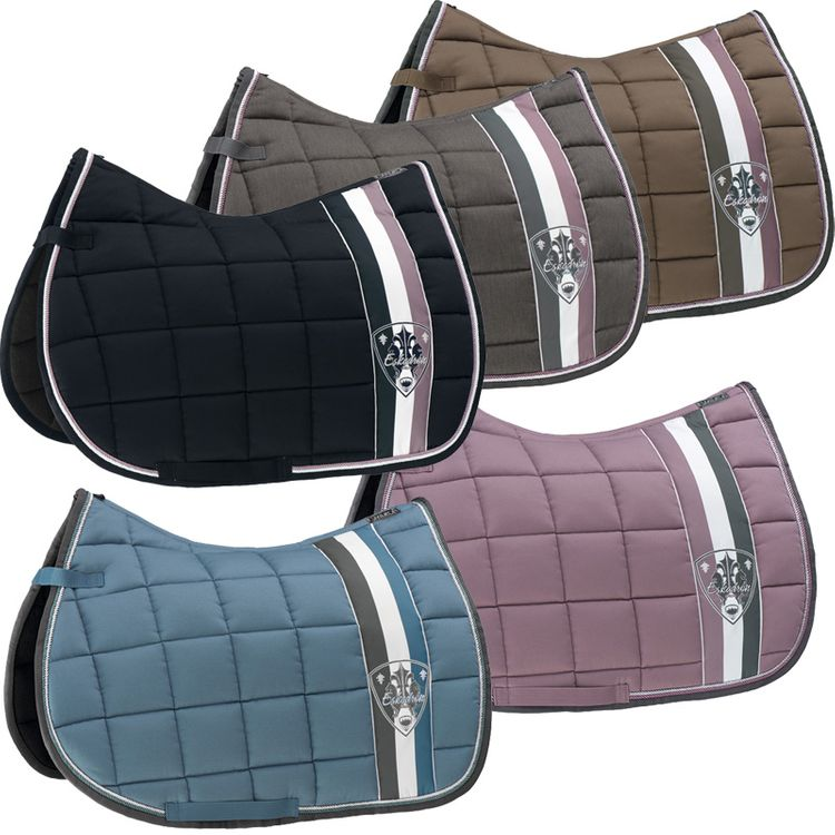 ESKADRON Big Square Schabracke aquamarine/orchidmauve/darktaupe/anthra/navy