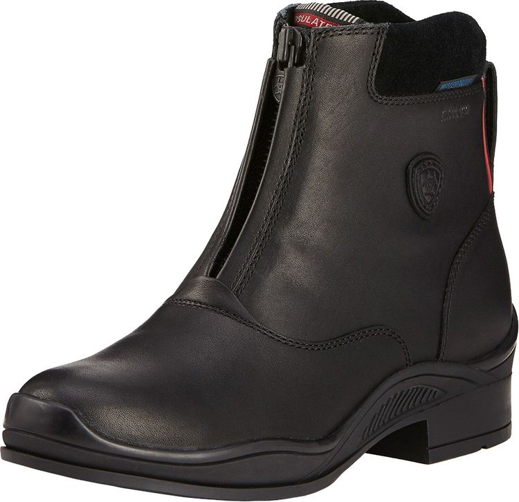 ARIAT Women's Extreme Zip H2O Insulated in black, Damen Stiefelette