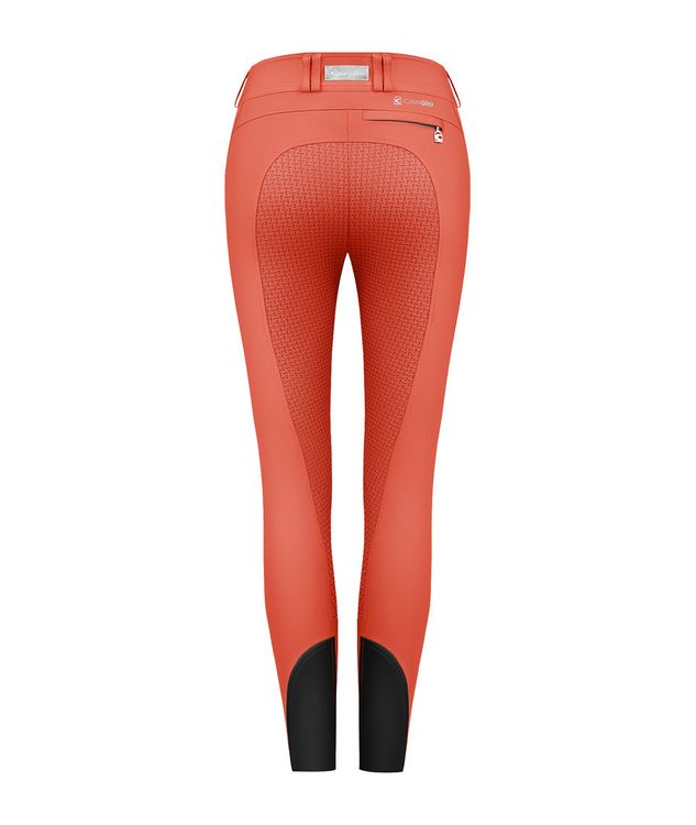 Cavallo Modern Low Reithose Cera Grip in flamered