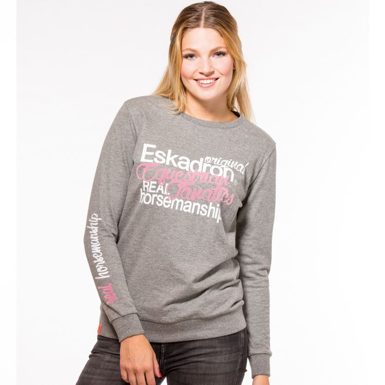 Eskadron Fanatics Sweater Women DODO long in anthra Melange
