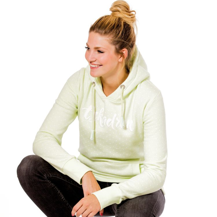 Eskadron Fanatics Women Hoodie BELLA in lightgreen