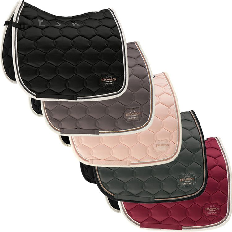 ESKADRON Heritage Schabracke Glossy Wave black, rose, military, brickred, basalt