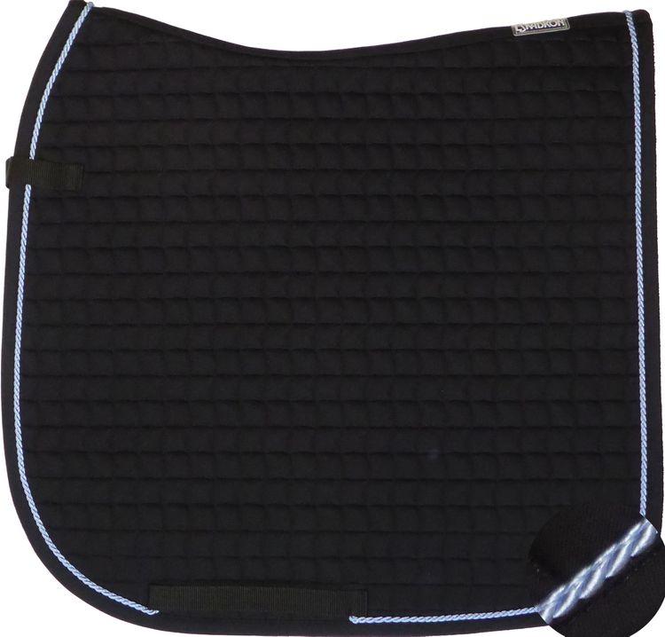 ESKADRON Cotton Schabracke black, einer Kordel in light blue