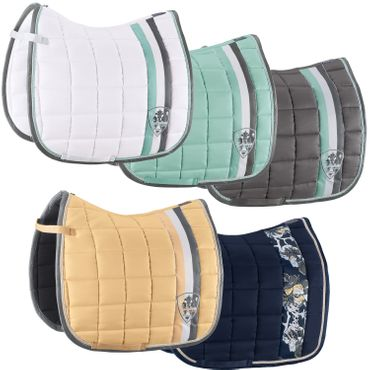 Eskadron Big Square Schabracke in jade, white, deepblue, sunrise, white