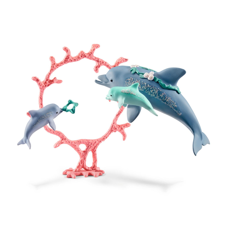 Schleich Delfin-Mama mit Babies