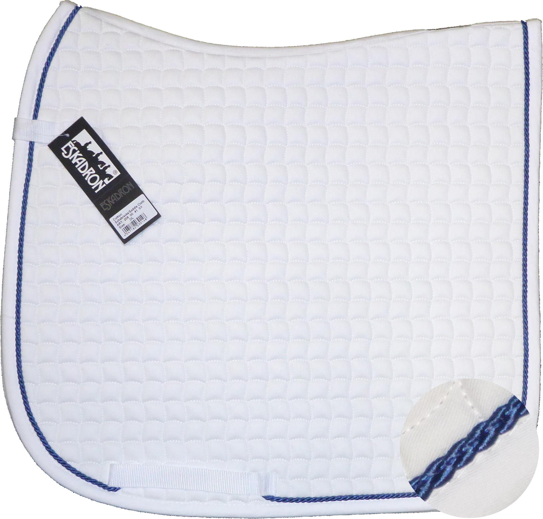 ESKADRON Cotton Schabracke white, einer Kordel in jeans (5040)