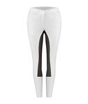 Cavallo CIORA GRIP C MIX Reithose in weiß-graphite