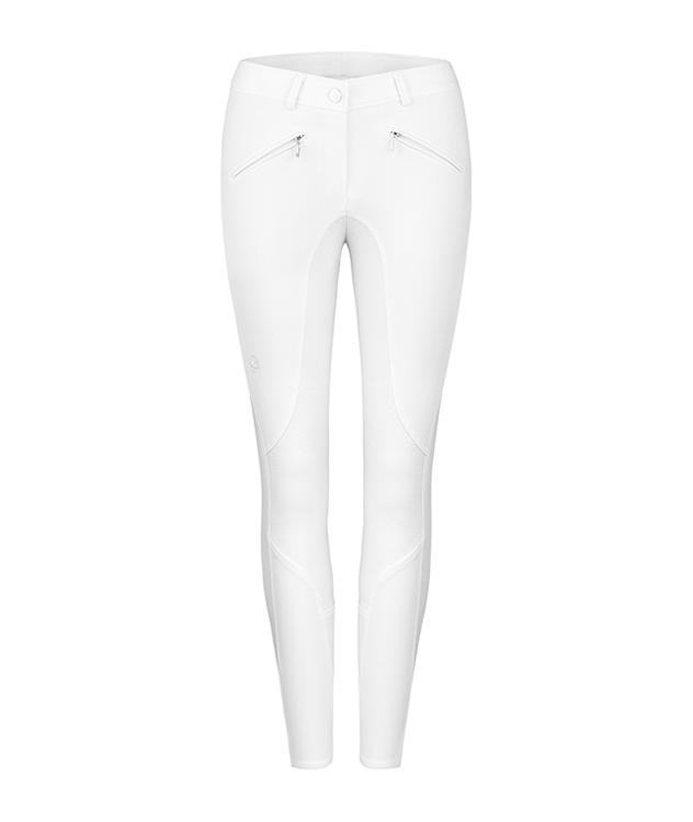Cavallo CAJA GRIP C Damenturnierhose in weiß