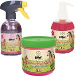 3er Set Effol Kids Sternen- Huf-Glanz, Super-Sauber, Sternenglanz Spray je 300ml 001