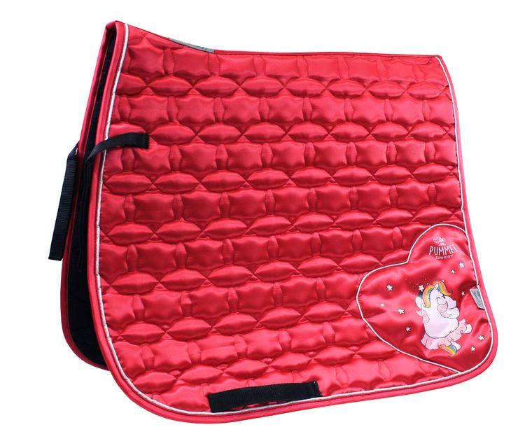 Pummeleinhorn 3.0 Schabracke Satin Star Pummelfee viola red - von EQuest 354600