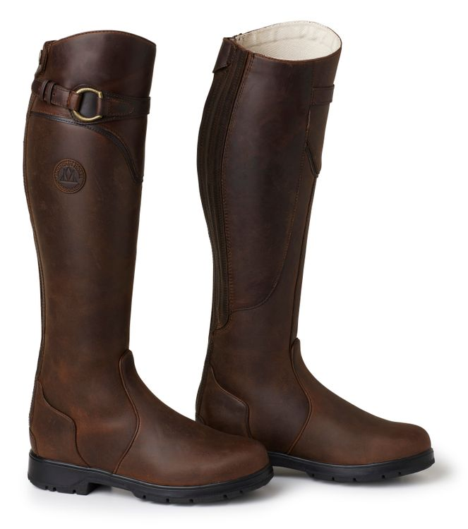 Mountain Horse Spring River Riding Boot, weite Größe in brown