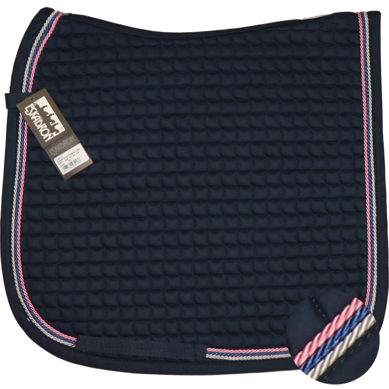 Neu ESKADRON Cotton Schabracke navy, 3fach Kordel silber, jeans ,rose viele Größen