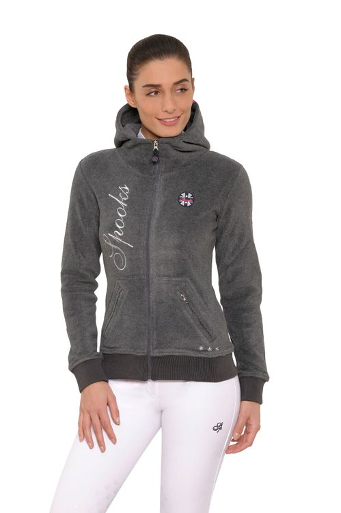 Spooks Fleecejacke Lesley in dark grey