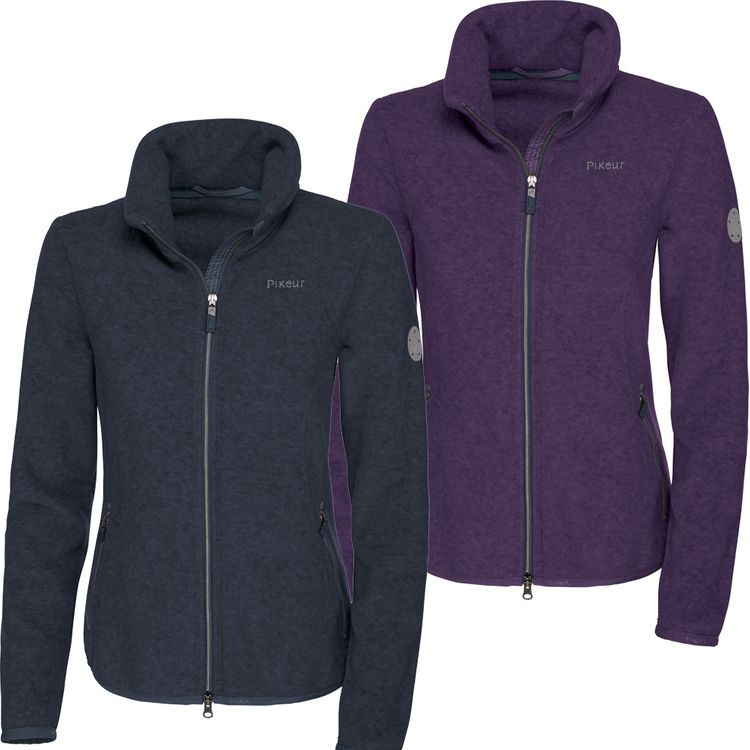 Pikeur Fleecejacke Katia HW18 grape und navy