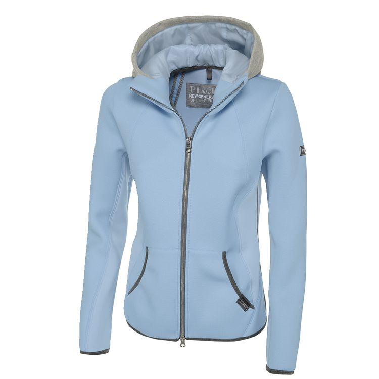 Pikeur New Generation Materialmix Damenjacke Gracee in skyblue HW18