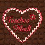 """Eskadron meets Oktoberfest - Schabracke """"Fesches Madl"""" in choco"""